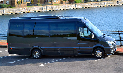 PRIMA - The new name in Luxury Mini Coaches